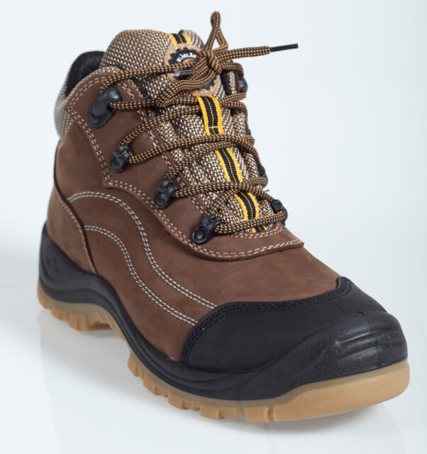 Herock Tuxedo S3 Composite Safety Work Boot Trainer Brown