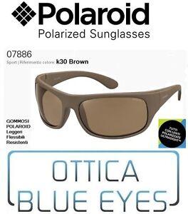 Occhiali-da-Sole-POLAROID-Polarized-Sunglasses-07886-k30-BROWN-Sonnenbrille-New