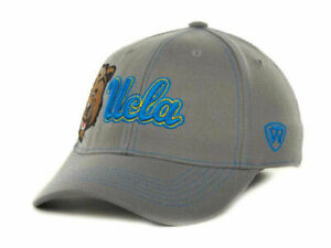 UCLA Bruins Top of the World NCAA Sketched Gray Stretch Fit Cap Hat