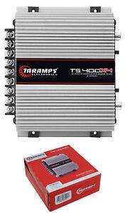 Taramps-TS400X4-Full-Range-2-Ohm-4-Channel-400W-Class-D-Car-Audio-Amplifier