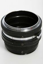Bronica Three Ring Extension Tube Set