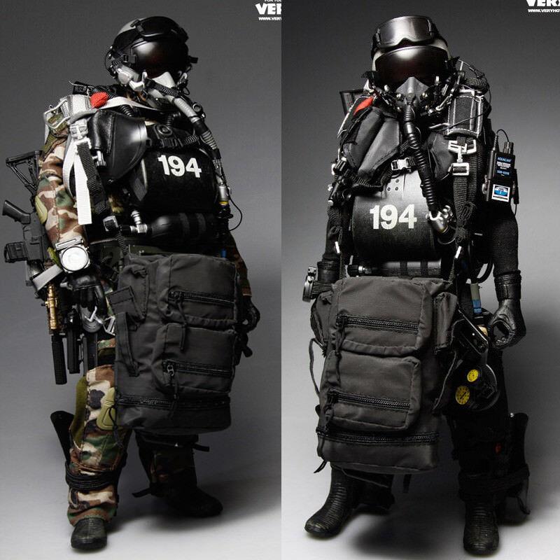 más orden VeryHot 1 6 U.S. Navy Navy Navy SEAL HALO UDT JUMPER Camo DRY traje Figura De Acción Nueva  descuentos y mas
