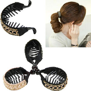 New Trendy Hair Accessories Simple Lady Hairpin Link Gripping Banana Clips