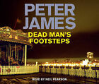 Dead Man's Footsteps by Peter James (CD-Audio, 2008)