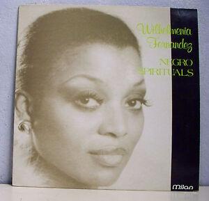 33-RPM-Wilhelmenia-Fernandez-Vinyl-LP-12-034-Negro-Spirituals-Jazz-Gospel-Milan