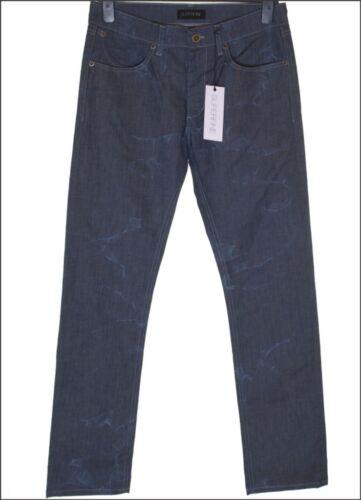 """BNWT Da Uomo Superfine Stretch Skinny Sly Jeans W29/"""" L32/"""" RRP £ 145 Blu Crush"""