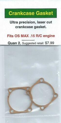 OS MAX .15 R//C Crankcase Gasket 2 Pack NIP