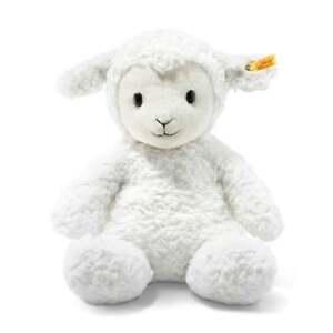 Steiff-Soft-Cuddly-Friends-38cm-Large-Fuzzy-Lamb-Soft-Toy-New-073434