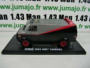 voiture-1-43-GREENLIGHT-film-Agences-Tous-risques-A-team-GMC-Vandura-1983