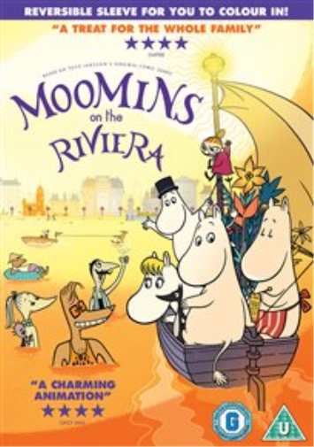 Moomins On the Riviera DVD NEW
