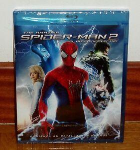 THE-AMAZING-SPIDER-MAN-2-LA-POUVOIR-D-039-ELECTRO-BLU-RAY-NUEVO-PRECINTADO-ACCION