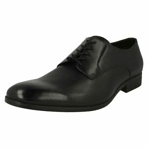 Leather Clarks Mens Gilmore Shoe Up Lace Black ErfrgwIq