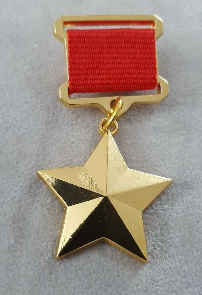 Medalje, Sovjetunionens helt