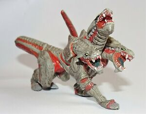 RARE 3-Headed Monster Action Figure Guardian Force Final Fantasy - Sqex 1999