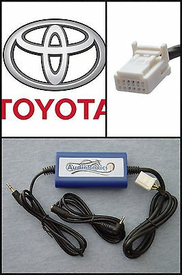 Digital iPod/iPhone/Aux/3.5mm Audio Input Adapter Interface select Toyota Radio