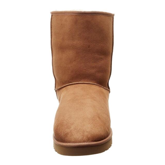 0d224e63ecd Buy UGG Australia Women's Classic Short Sheepskin Boot Chestnut,10 M ...