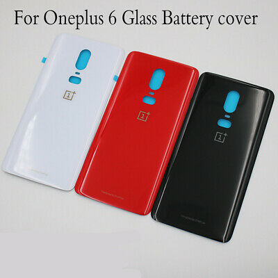 huge selection of 8de94 23fbe Replacement For Oneplus 6 A6000 Hoousing Glass Battery Door Rear Back Cover  Case | eBay