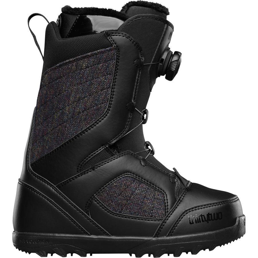 Zweiunddreißig Damen (7) Standard Boa Snowboard Stiefel (7) Damen Schwarz 4d333d