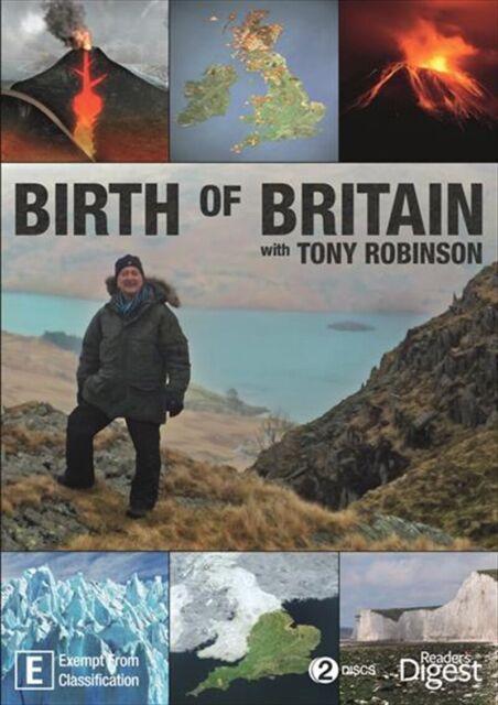 BIRTH OF BRITAIN WITH TONY ROBINSON - DVR-4, LIKE NEW, FREE POST IN AUSTRALIA