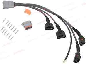 details about audi a4 tt vw golf jetta passat beetle 1 8l ignition coil  wiring harness 034m