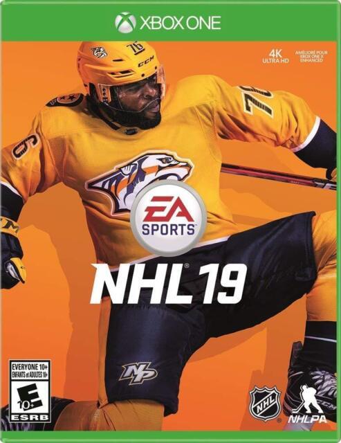 NHL 19 [Microsoft Xbox One EA Games Sports Hockey Online Tournaments] NEW