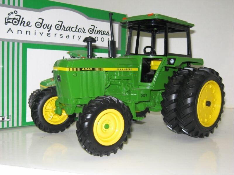 1/16 John Deere 4040 mfwd con DUALS Juguete Tractor veces edición NIB envío gratis