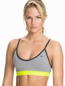 e6f006035d Women s Nike Pro Victory Shape Sports Bra Grey Volt 620273-064
