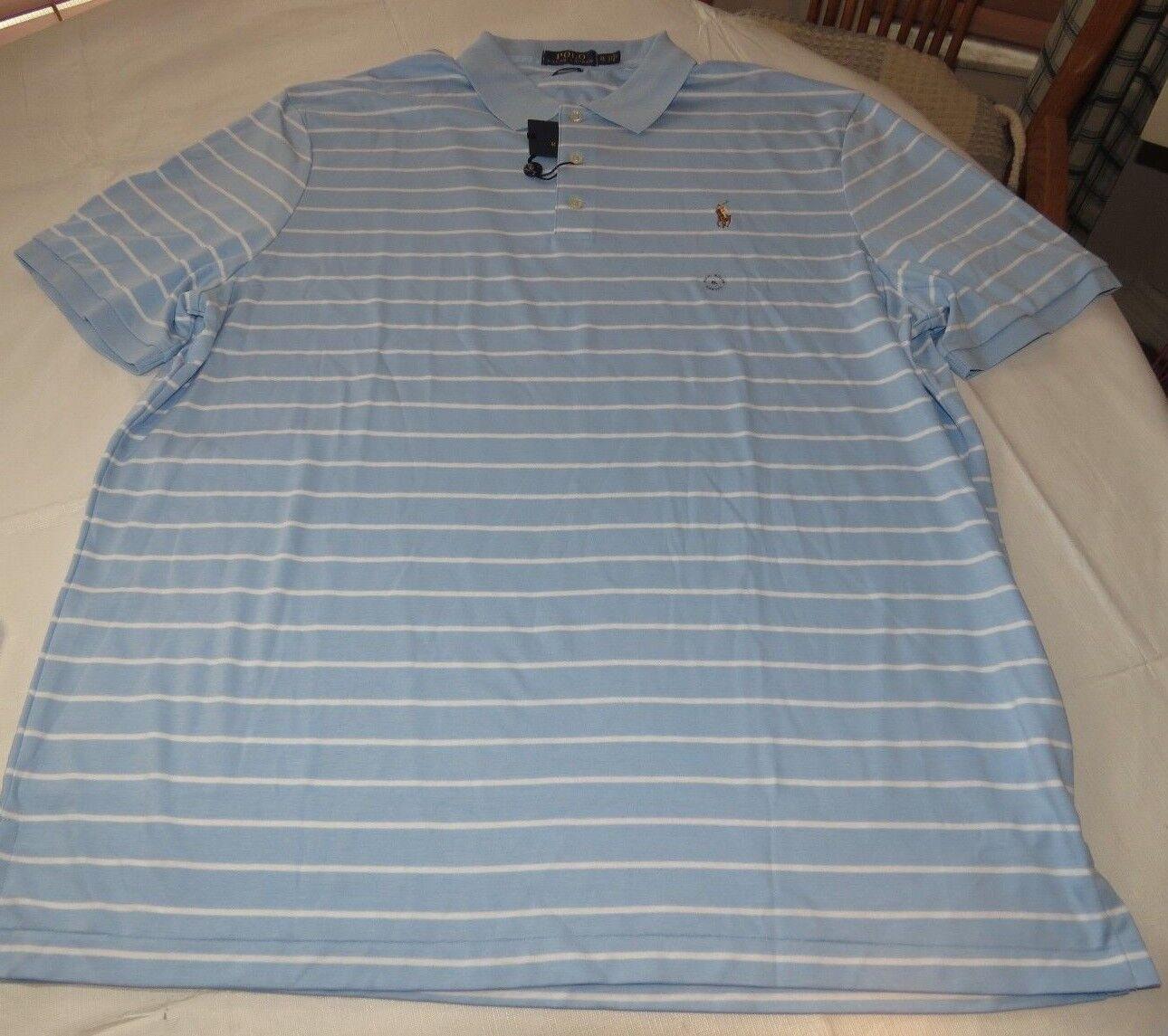 Polo Ralph Lauren  Herren Short Sleeve Polo Shirt Classic Fit XL 675002 Stripe
