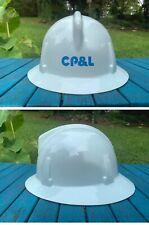Vintage Cpampl Carolina Power And Light Hard Hat Shockgard Msa Sz 6 12 7 34