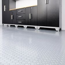NewAge 8' x 20' Versaroll Garage Flooring Minimal Installation and Easy to Clean