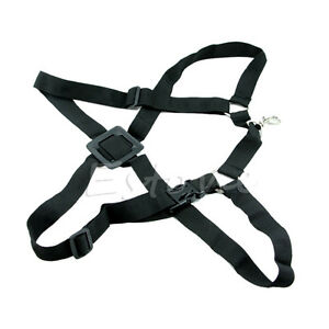Saxophone-Harness-Shoulder-Sax-Neck-Strap-Adjustable-Tenor-Baritone-Black-New