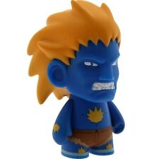 $13 Kidrobot Street Fighter 3 Inch Mini Series Blanka Figure - 1/20 Ratio (blue)