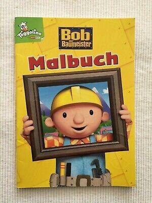 (el) - Bob Der Baumeister - Malbuch - Sehr Guter Zustand!