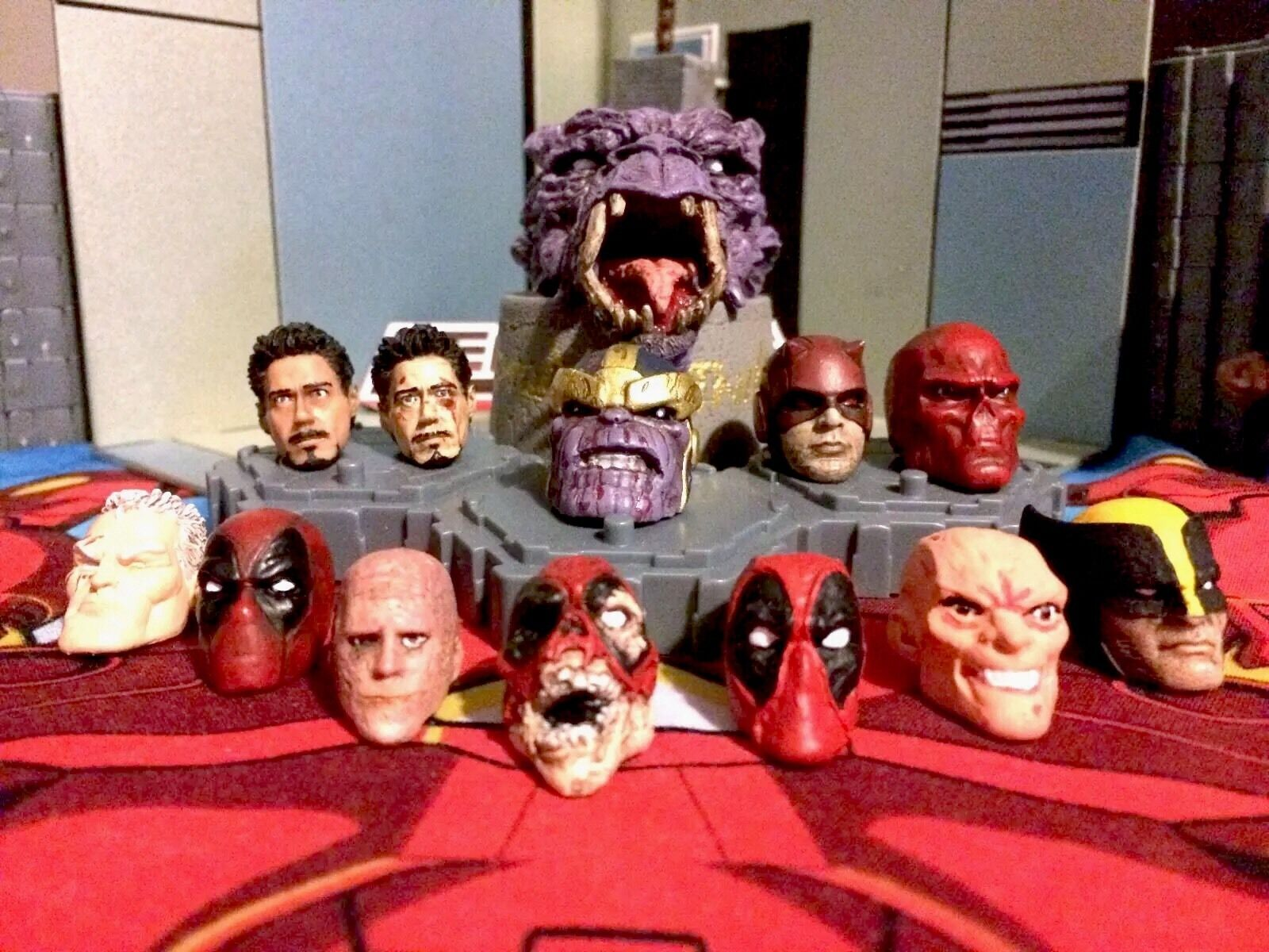 Marvel Legends Select head cast and and and painting service's (per 1 head) adeb21