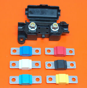 Quality-Midi-Strip-Link-Fuse-Holder-For-Strip-and-Midi-Fuses-amp-30A-150A-Fuses