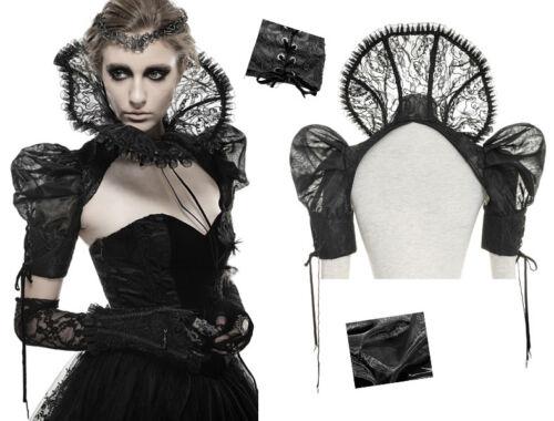 Ruff Collar Lace Bolero Jacket Gothic Lolita Victorian Witch Vampire PunkRave