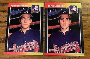 1989 Donruss #642 John Smoltz RC - Braves (2)