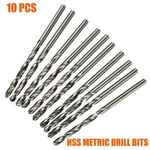 10x-HSS-Metric-Drill-Bits-0-3-0-9mm-Micro-Wear-Resistance-Straight-Shank-Twist