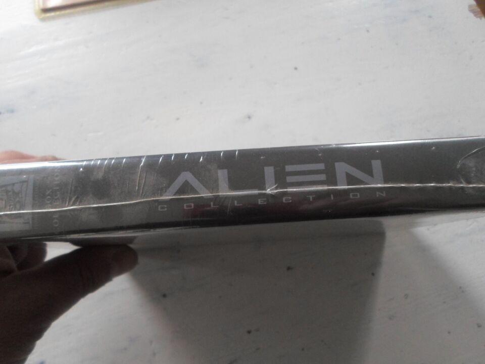 Alien Collection (4-disc), DVD, science fiction