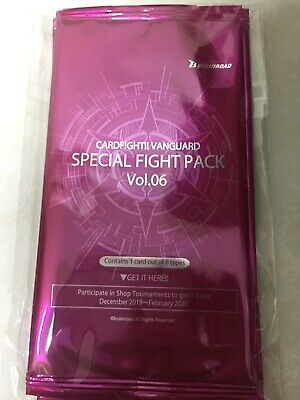 Lot of 8 English Special Fight Pack Vol.01 Promo Packs 8x Cardfight Vanguard
