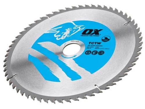 Ox Tools OX-TCTW-2353060 Wood Cutting Blade 235mm x 2.8 x 30 x 60T