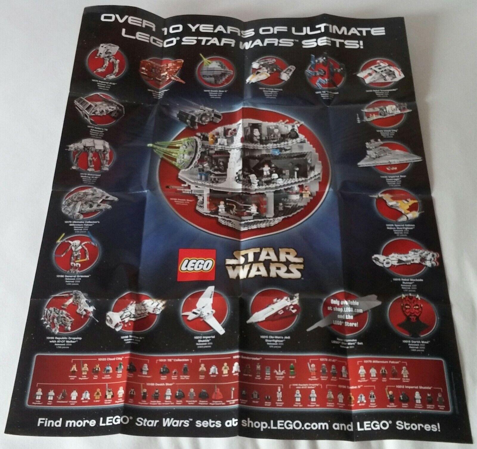 LEGO® Star Wars™ Poster UCS Modelle Promotional 2011 Neu limited of 35520