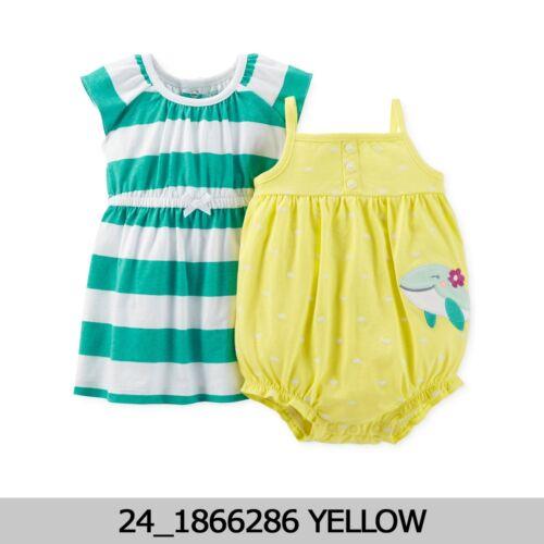 CARTERS Baby Girls 2 pièces robe /& Ange Set 3M//12M//18M neuf avec étiquette 1866286