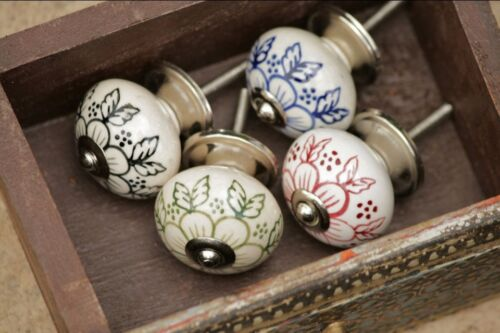 ONE Butterfly monochrome Wardrobe Cabinet Chest Drawer Door Knob Handle Antiqued