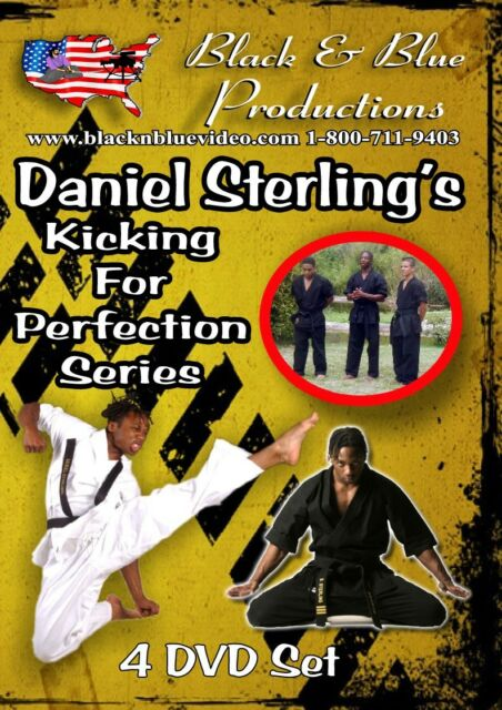 All 4 Daniel Sterling's XMA Extreme Tricking Series Instructional 4 DVDs
