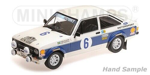 Minichamps-ford rs 1800 ford motor co ltd waldegard thorsze acropolis 77 1 18