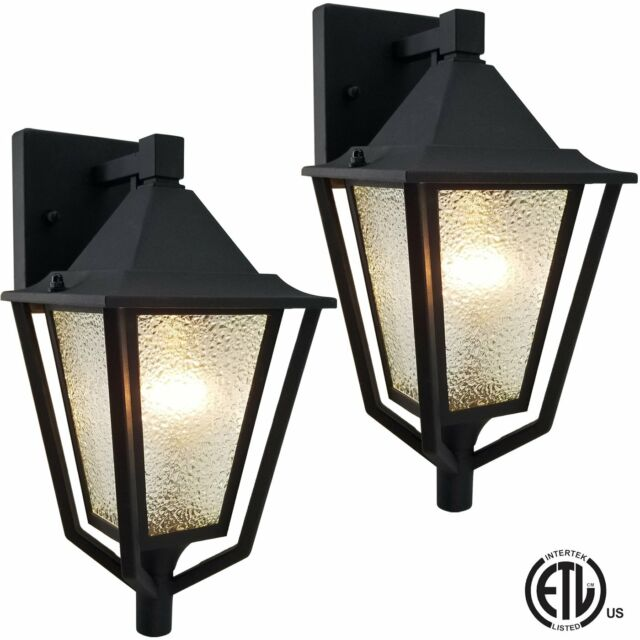 Quoizel Ny8411p 2 Light Outdoor Wall Lantern Pewter For Sale Online Ebay