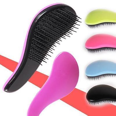 WO AU Magic Handle Tangle Detangling Comb Shower Hair Brush Salon Styling Tamer
