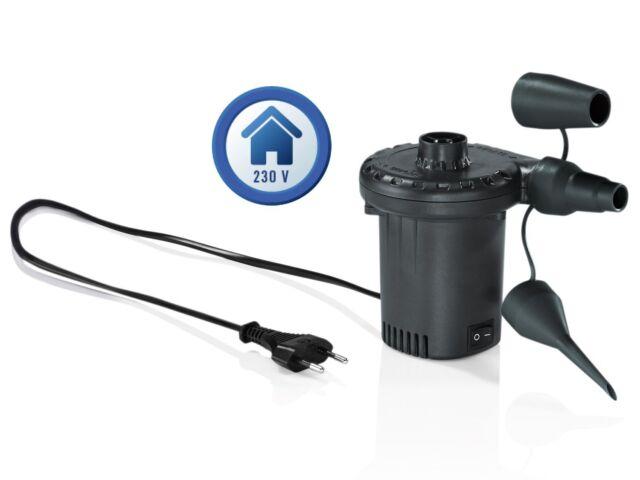 Luftpumpe Elektropumpe Pumpe für Pool Luftmatratze Airtrack Elektrische 230 V