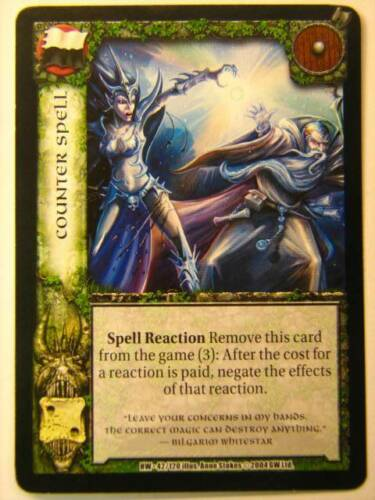 3x Counter Spell HW 42//120 Warcry CCG